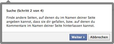 facebook seiten update