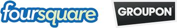 Foursquare und Groupon