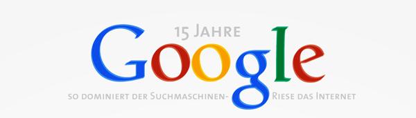 15 Jahre Google