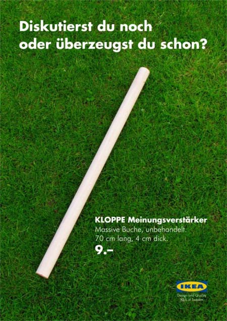 Guerilla-Marketing IKEA